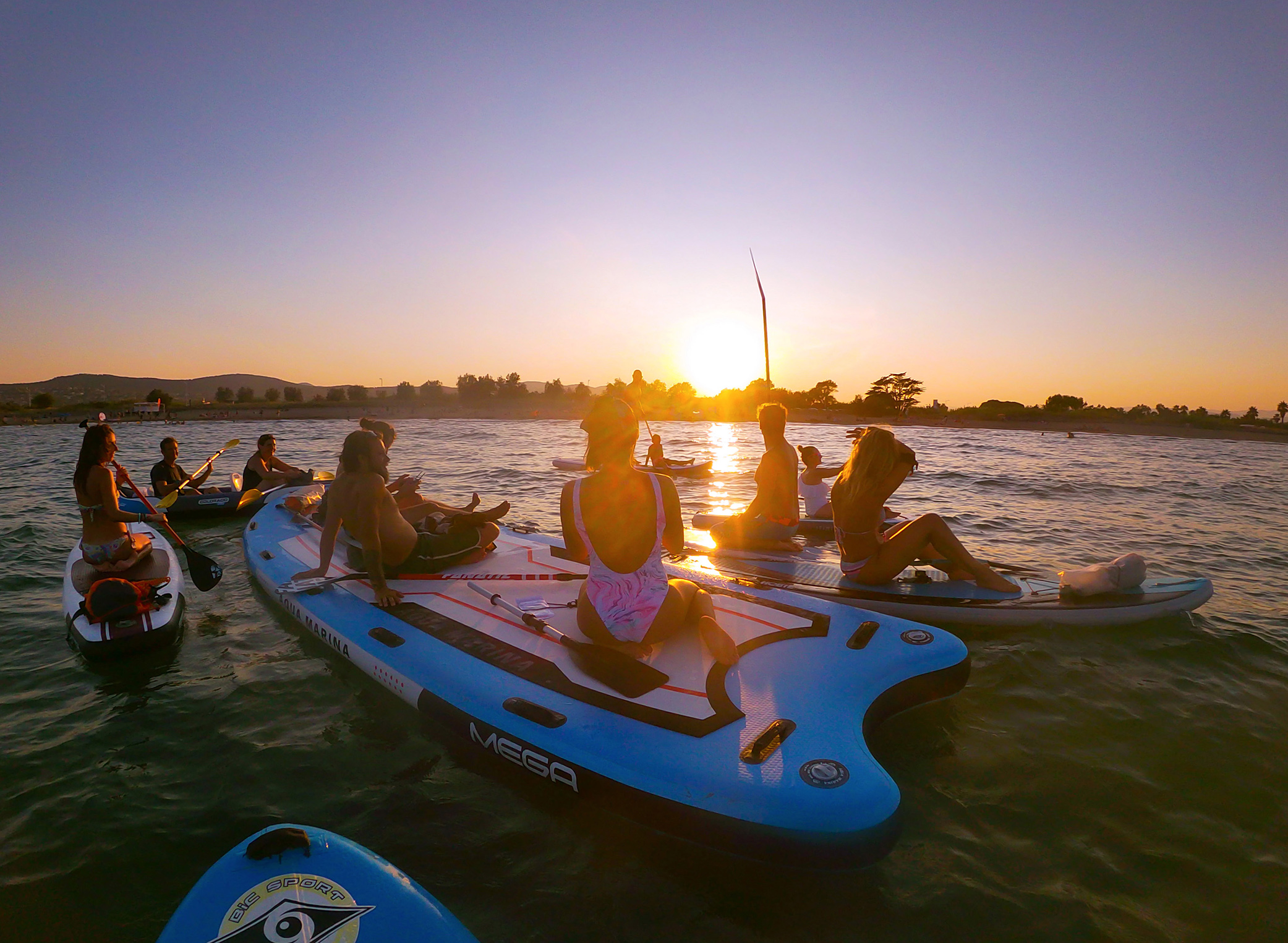 Sunset paddle instameet